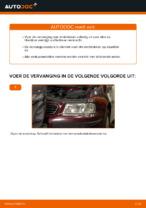 Remblokset achter en vóór veranderen AUDI A3: online gids