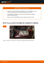 Sostituzione Kit pastiglie freno a disco AUDI A3: pdf gratuito