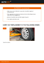 Workshop manual for AUDI A3 online