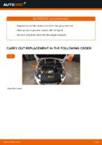 Replacing Oil Filter: pdf instruction for PEUGEOT 308