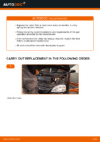 Step-by-step repair guide for Opel Corsa S93
