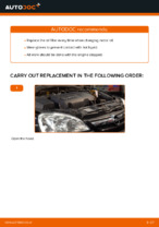 Replacing Oil Filter OPEL CORSA: free pdf