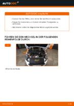 Ausführliche Auto-Reparaturanweisung für Ersatz Motorölfilter PEUGEOT