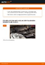 OPEL Luftfiltereinsatz Auto Ersatz wechseln - Online-Handbuch PDF