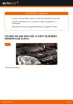 Wie Motorölfilter OPEL CORSA tauschen und einstellen: PDF-Tutorial