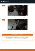 Wie Sie die hinteren Wischerblätter am AUDI A3 8L1 ersetzen