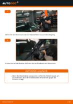 Wie Sie die vorderen Wischerblätter am AUDI A3 8L1 ersetzen