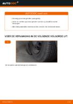 Hoe u de spoorstangeinden van een OPEL CORSA C (F08, F68) kunt vervangen