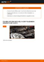 Wie Sie Motoröl und den Ölfilter am OPEL CORSA C (F08, F68) ersetzen