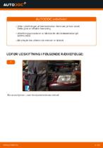 Montering af Bremseklods AUDI A3 (8L1) - trin-for-trin vejledning