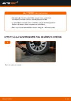 Come sostituire gli ammortizzatori della sospensione posteriore su AUDI A3 8L1