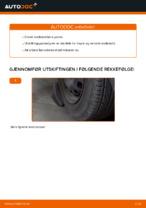 Når skifte Styrekule OPEL CORSA C (F08, F68): pdf håndbok
