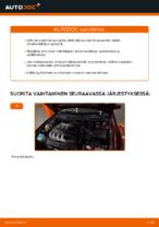 Kuinka vaihtaa sisäilmansuodatin AUDI A3 8L1 malliin