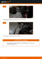 Kuinka vaihtaa taka pyyhkijänsulat AUDI A3 8L1 malliin.