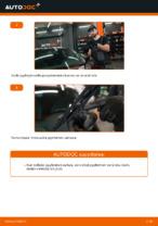 Kuinka vaihtaa etu pyyhkijänsulat AUDI A3 8L1 malliin.