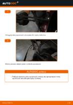 Jak wymienić szczotki wycieraczki tylne w AUDI A3 8L1