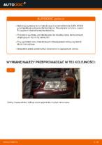 W jaki sposób wymienić przednie tarcze hamulcowe w AUDI A3 8L1