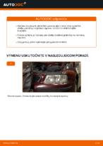 Montáž Brzdové doštičky AUDI A3 (8L1) - krok za krokom príručky