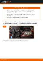 AUDI Brzdové doštičky zadné a predné vymeniť vlastnými rukami - online návody pdf