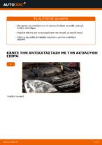 Εγχειρίδιο εργαστηρίου για Opel Corsa E x15