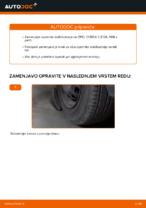 Kako zamenjati opornik stabilizatorja na OPEL CORSA C (F08, F68)