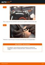 Como substituir as escovas do limpa para-brisa dianteiros em OPEL CORSA C (F08, F68)