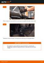 Como substituir as escovas do limpa para-brisa traseiros em OPEL CORSA C (F08, F68)