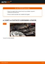 Mikor cseréljünk Légszűrő OPEL CORSA C (F08, F68): pdf kézikönyv