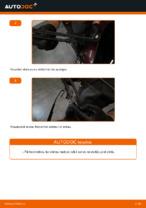 Kā nomainīt aizmugurējās stikla tīrīšanas slotiņas automašīnai AUDI A3 8L1