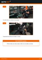 Kā nomainīt priekšējās stikla tīrīšanas slotiņas automašīnai AUDI A3 8L1