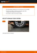 Kā nomainīt aizmugurējās piekares amortizatorus automašīnai AUDI A3 8L1