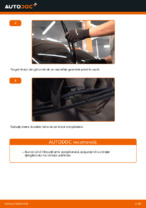 Cum se înlocuiesc lamele ștergătoarelor de parbriz din spate ale automobilului OPEL CORSA C (F08, F68)