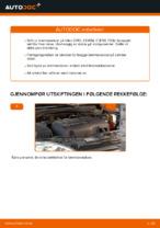 Instruksjonsbok OPEL gratis