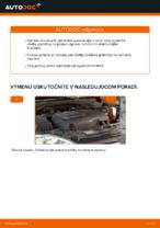 Ako vymeniť predné a zadné Ložisko tlmiča na OPEL CORSA C (F08, F68) - manuály online