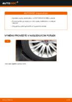 Jak vyměnit přední vzpěru stabilizátoru na FIAT BRAVO II (198)
