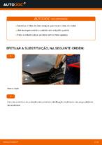 Instruções gratuitas online sobre como substituir Filtro de Óleo OPEL CORSA C (F08, F68)