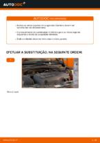 Como substituir molas de suspensão dianteiras em OPEL CORSA C (F08, F68)