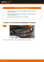 Fékbetét készlet cseréje: pdf útmutatók OPEL CORSA