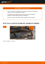 Come cambiare Molle di sospensione posteriore e anteriore OPEL CORSA C (F08, F68) - manuale online