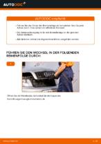 Wie Stoßdämpferlager hinten und vorne beim AUDI A4 (8E2, B6) wechseln - Handbuch online