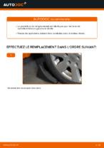 Comment remplacer l'arbre inférieur de la suspension indépendante avant sur une AUDI A4 B6