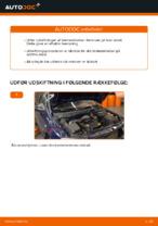 PDF udskiftnings manual: Bremseklods OPEL bag og foran