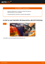 OPEL ASTRA Polttoainesuodatin vaihto diesel: käsikirja verkossa