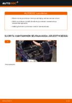 Ilmaiset ohjeet verkossa kuinka vaihtaa Etujouset ja takajouset OPEL ASTRA G Hatchback (F48_, F08_)
