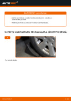 Kuinka vaihtaa itsenäisen jousituksen etupuolen alatukivarsi AUDI A4 B6 malliin