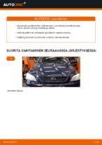 Kaukovalo polttimo vaihto: OPEL ASTRA pdf oppaat