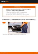 Jak wymienić klocki hamulcowe przedniego hamulca tarczowego w AUDI A4 B6