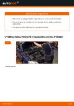 Ako vymeniť pružiny predného zavesenia kolies na OPEL ASTRA G (T98, F08, F48)