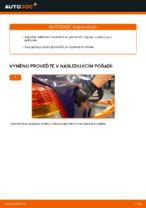 Jak vyměnit palivový filtr na OPEL ASTRA G (T98, F08, F48)