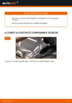Üzemanyagszűrő cseréje: pdf útmutatók RENAULT MEGANE